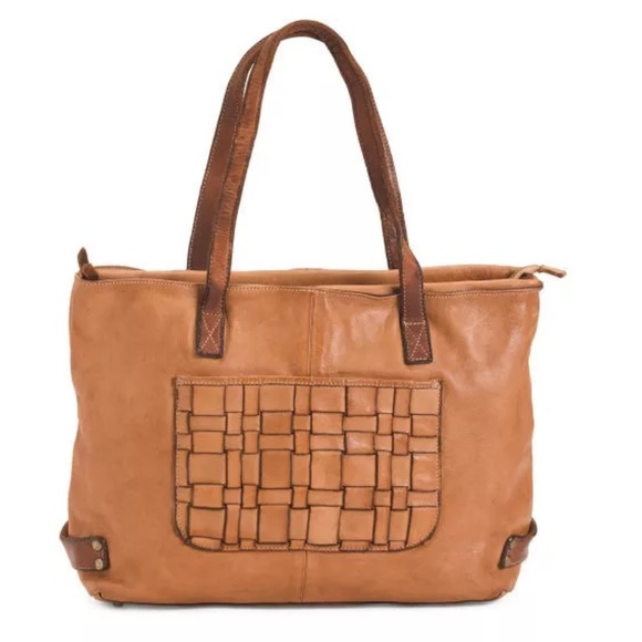 Costanza Rota made in Italy distressed tote bag. NWT 12a6881750780